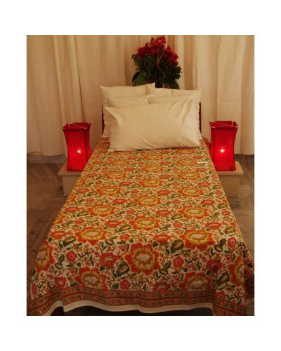 ORGANIC COTTON BEDSPREAD TWIN