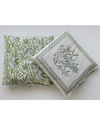 Organic Cotton Cushion Cover Set of 2 - 42x42