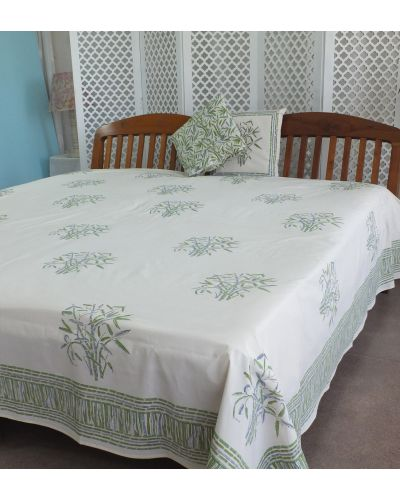 ORGANIC COTTON BED SPREAD KING