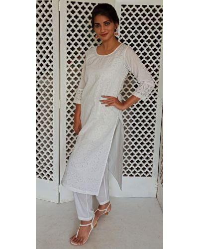 CUTWORK 1 KURTA