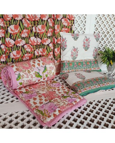 PATCH WORK QUILTS / BED PROTECTORS