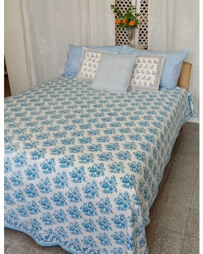 ORGANIC COTTON BED SPREAD QUEEN