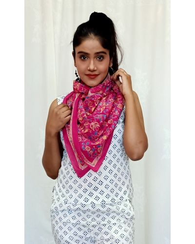 SCARF COTTON - 110X110 CMS