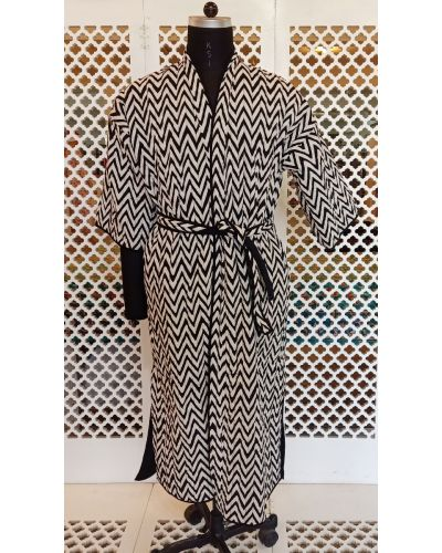 MENS QUILTED GOWN